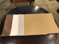 6月の新入荷 能登の杉皮紙、藤田歩さんのノッティングの椅子敷